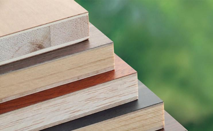 Melamine hpl blockboard sinowood