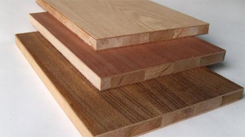 Veneered blockboard sinowood